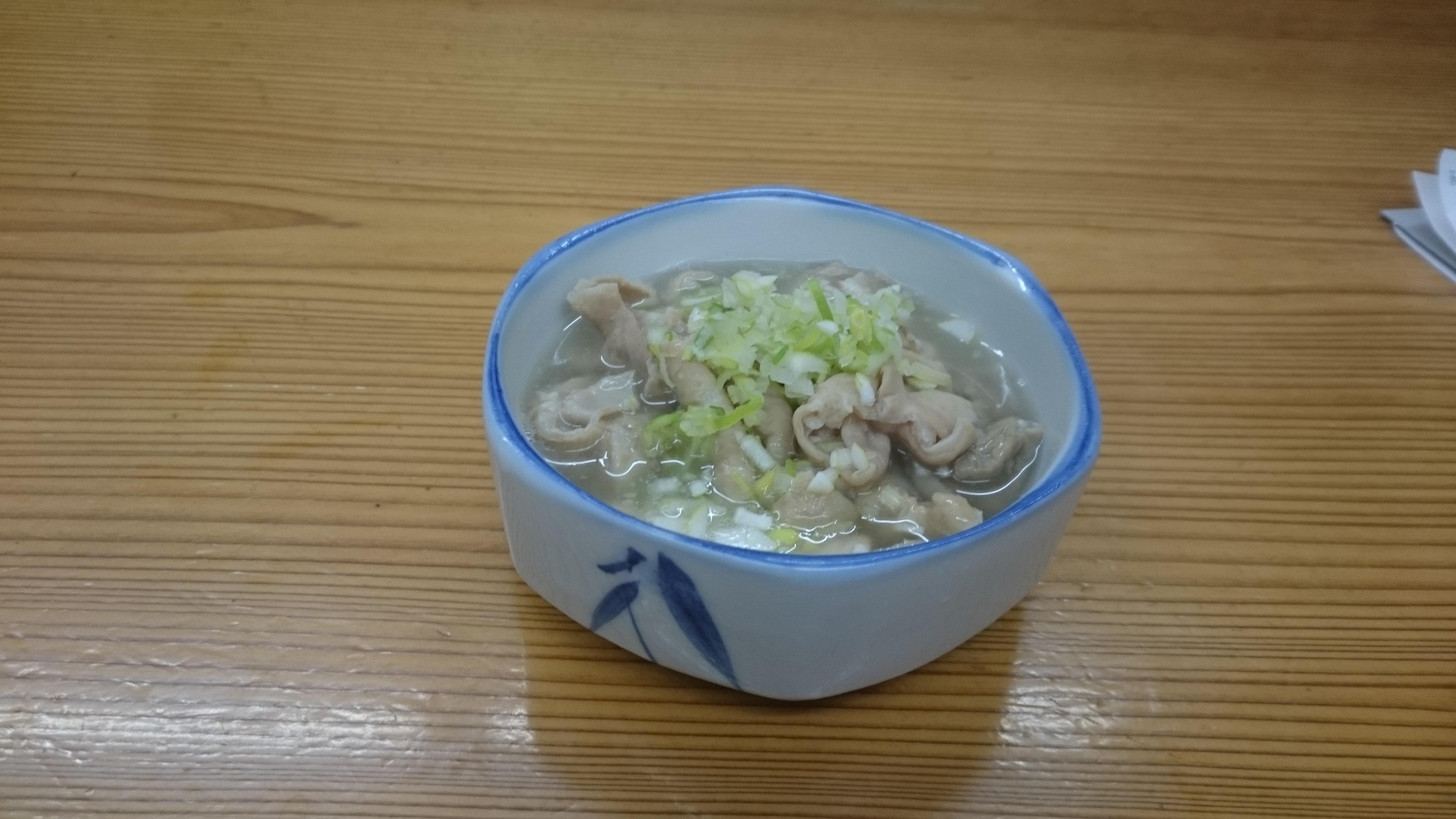 モツ煮込(塩味)